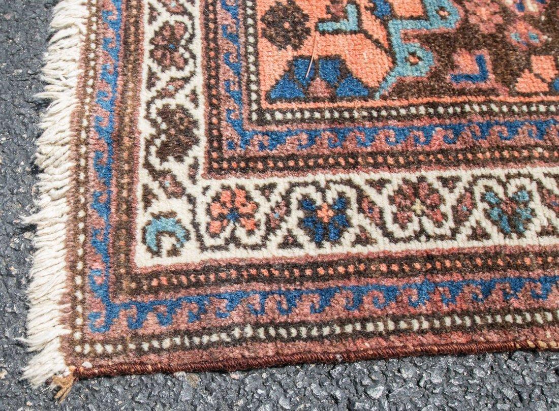 "Semi-antique Persian Heriz rug, 3'6"" x 9'6"" - 2"