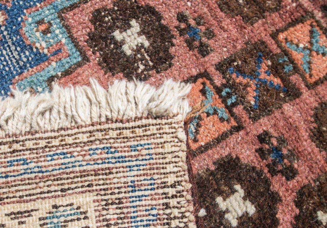 "Semi-antique Persian Heriz rug, 3'6"" x 9'6"" - 3"