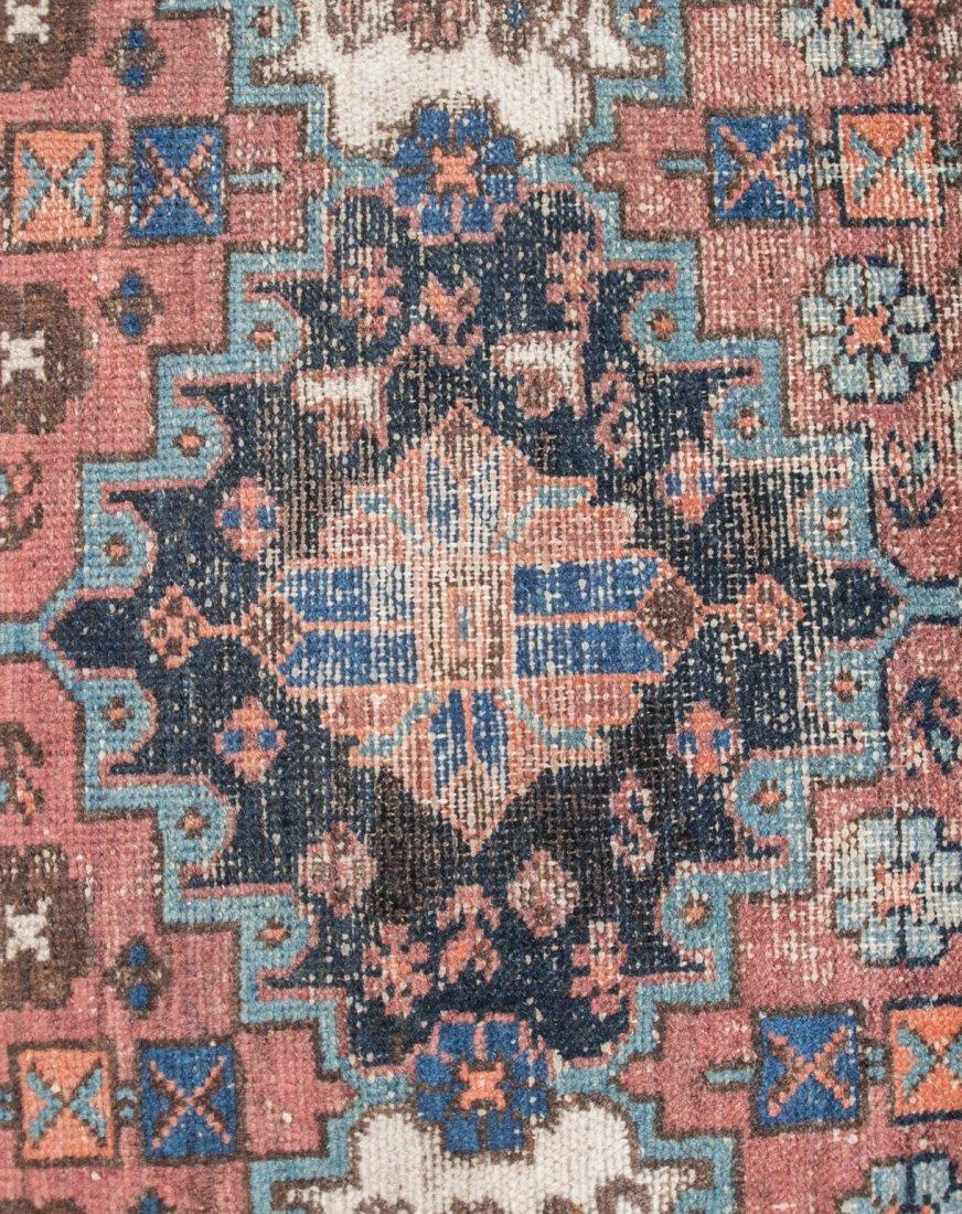 "Semi-antique Persian Heriz rug, 3'6"" x 9'6"" - 4"