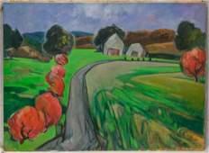 G Ralph Smith American 20th c Impressionist