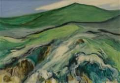 G Ralph Smith American 20th c Impressionist landscape