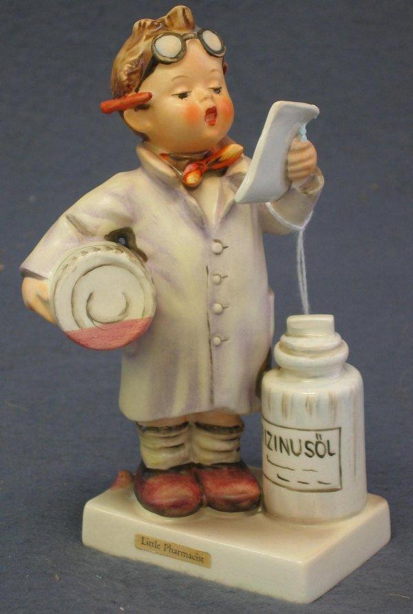 1005: Hummel Figurine, Little Pharmacist