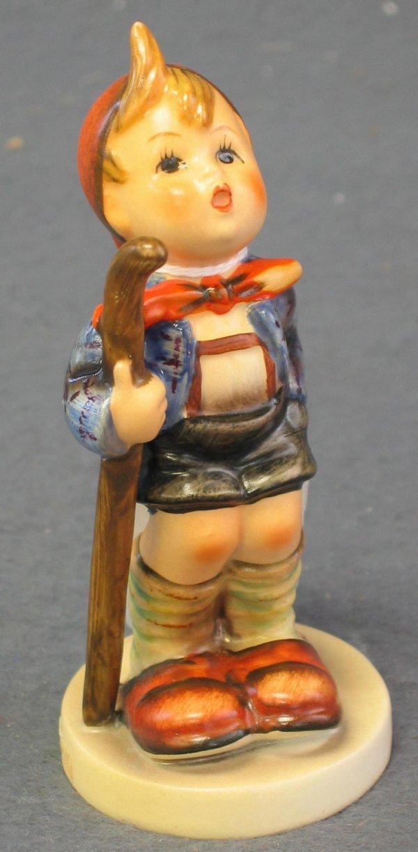 1022: Hummel Figurine, Little Hiker
