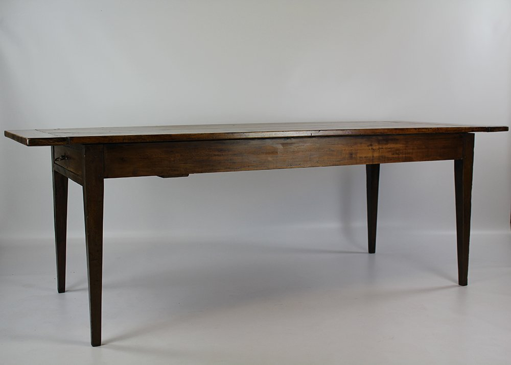 19th C French Cherrywood Farmhouse Table