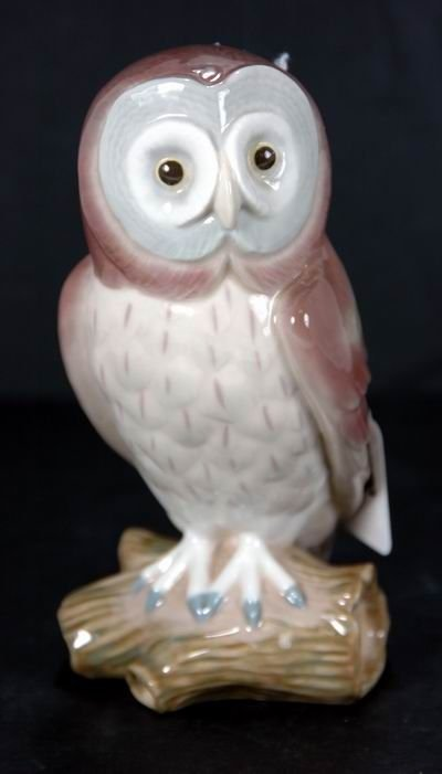 368: LLADRO GREAT GRAY OWL 5419 MINT CONDITION