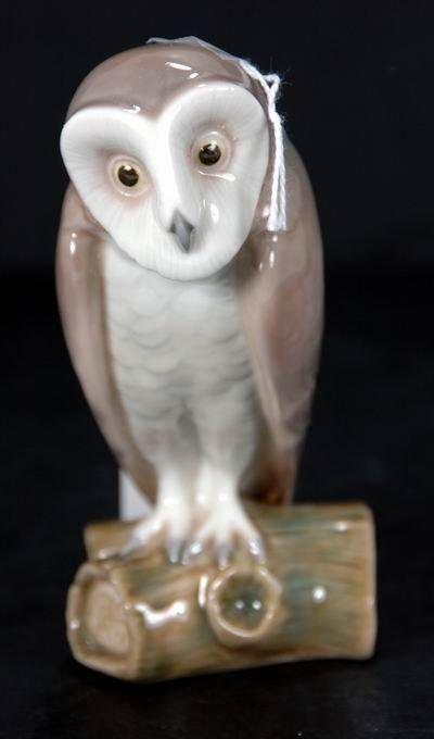 366: LLADRO RETIRED BARN OWL 5421 MINT