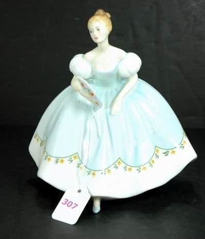307: ROYAL DOULTON FIGURINE FIRST DANCE MINT
