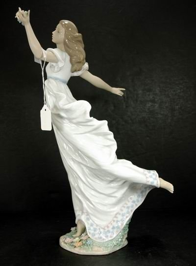 308A: LLADRO ALLEGORY OF YOUTH WITH BOX 6649