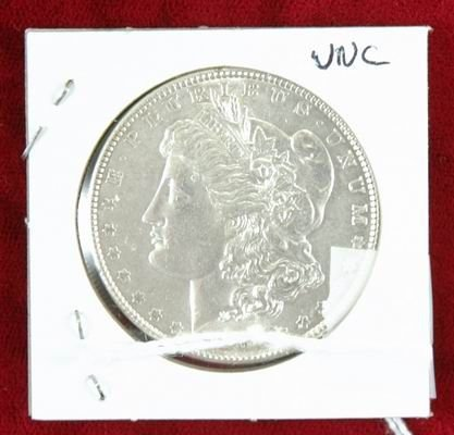 602C: 1889 MORGAN SILVER DOLLAR UNC