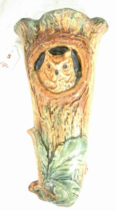 5: WELLER WOODCRAFT OWL WALL POCKET