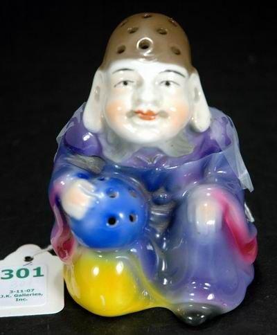 301: INCREDIBLE ROYAL BAYREUTH BUDDAH INCENSE BURNER