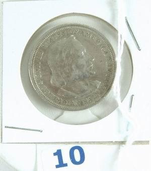 10: 1893 US COLUMBIA EXPOSITION HALF DOLLAR EXTRA FINE