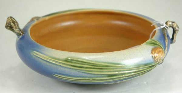 415: ROSEVILLE BLUE PINE CONE 6 INCH BOWL