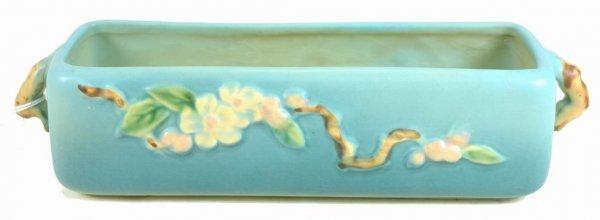 418A: ROSEVILLE APPLE BLOSSOM BLUE WINDOW BOX