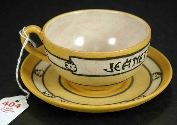 404: SATURDAY EVENING GIRLS CUP AND SAUCER