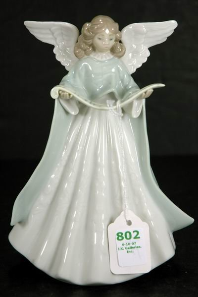 802: LLADRO ANGEL TREE TOPPER