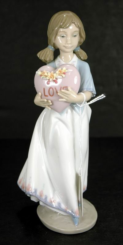 804: LLADRO 6155 EUROPEAN LOVE EXCELLENT CONDITION