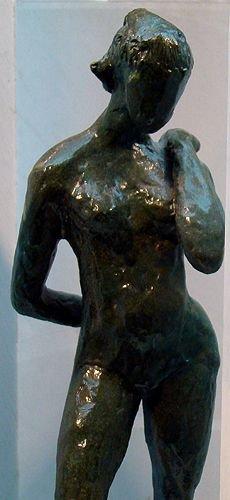 62: RARE SYLVIA JAFFEE GREEN VENUS SCULPTURE - 2