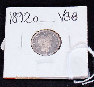 406: 1892 O DIME IN VERY GOOD CONDITION