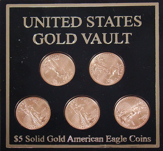416: FIVE DOLLAR GOLD LIBERTY COIN 2007