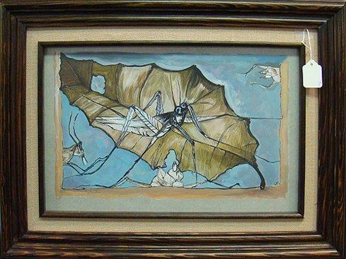 460: FRANCISCO TOLEDO WATERCOLOR PAINTING