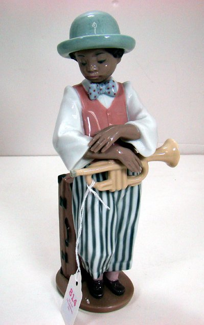 814: LLADRO THE JAZZ HORN PLAYER 5832
