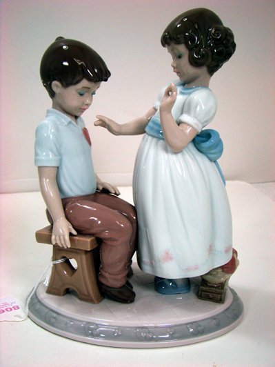806: LLADRO WITH ALL MY HEART 6906