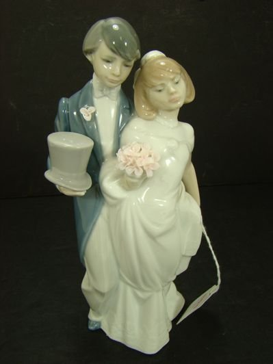 804: LLADRO WEDDING BELLS EXCELLENT WITH BOX 6164