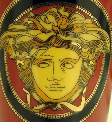 1052: SET OF VERSACE CUPS AND SAUCERS - 2