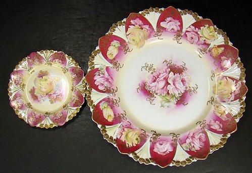 1219: R S PRUSSIA 7 PIECE CAKE SET