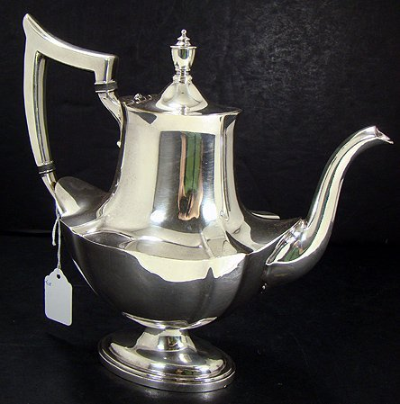 406A: GORHAM  SILVER PLATED COFFEE POT