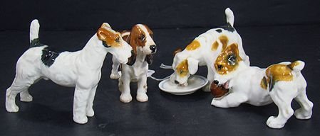 1220: LOT OF FOUR ROYAL DOULTON DOGS