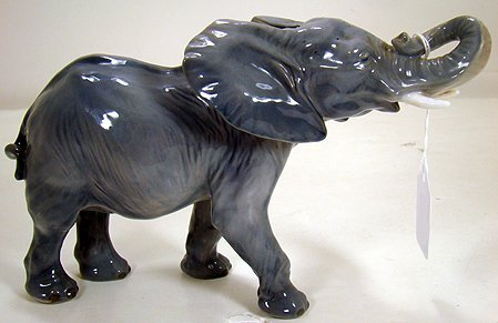 13: ROYAL COPENHAGEN AFRICAN ELEPHANT