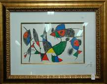 """423: """"ILLUSTRATION: BOOK II"""" HAND SIGNED LITHOGRAPH B"""