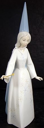 916: LLADRO FAIRY GOD MOTHER 4595 MINT WITH BOX
