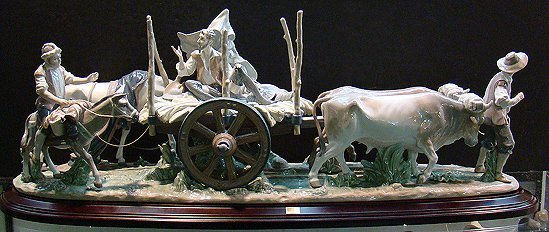 901: LLADRO RETURN TO LAMANCHA LIMITED TO 500 WITH BOX