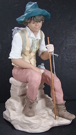908: LLADRO THE JOURNEY LIMITED 3700 MINT W/ BOX