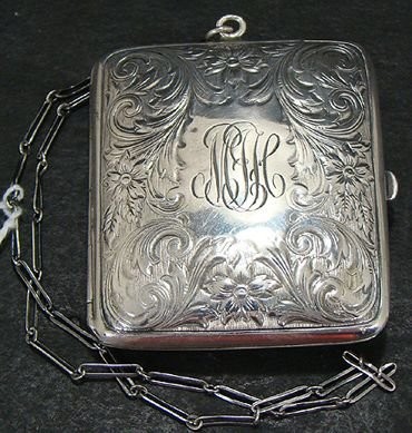 308: STERLING SILVER COIN PURSE
