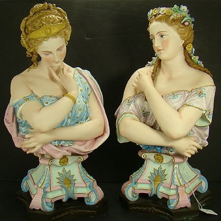 5: HUGE FRENCH FEMALE BISQUE FIGURES