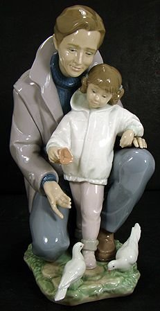 913: LLADRO A DAY WITH DAD 6793 MINT NO BOX