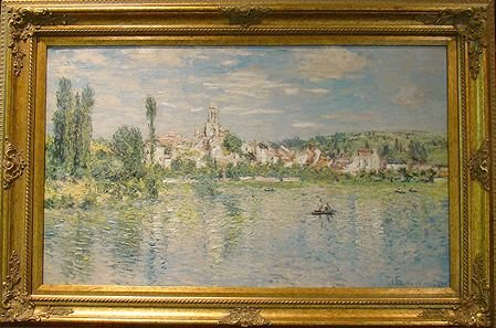 1159: BRUSHSTROKE MONET LIMITED EDITION PAINTING