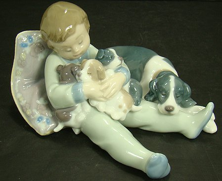23: LLADRO SWEET DREAMS 1535 MINT WITH BOX