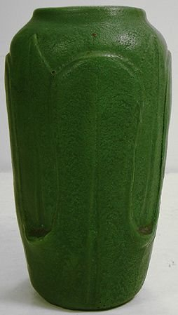 1062: WHEATLEY  RARE ARTS AND CRAFTS MATTE GREEN VASE