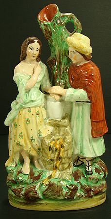 319: EARLY STAFFORDSHIRE FIGURAL GROUP