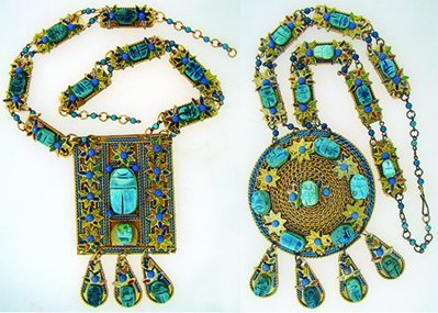 1000: COSTUME JEWELRY FAUX GOLD AND TURQUOISE LOT