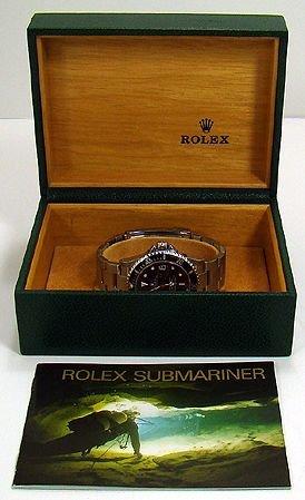 1085: MENS S/S ROLEX SUBMARINER CIRCA 2003