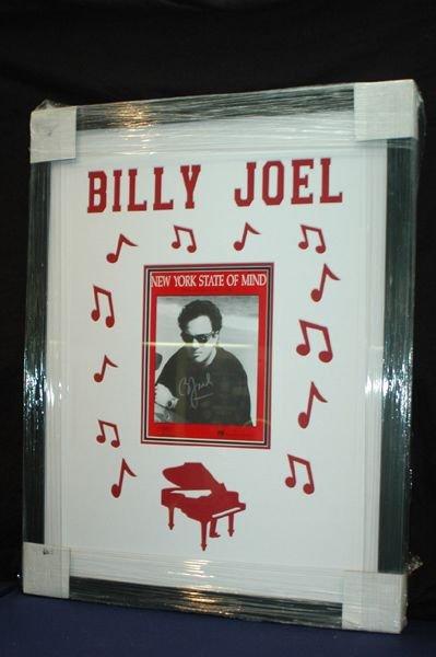 470: AUTOGRAPHED BILLY JOEL SHEET MUSIC W/COA