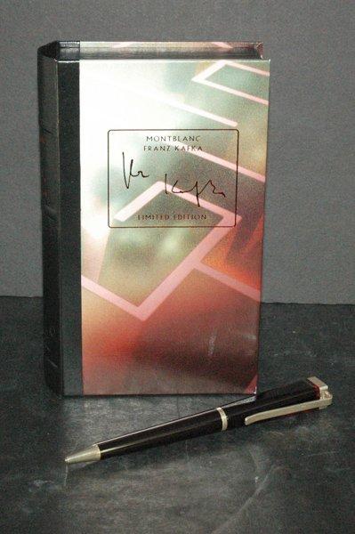 850E: MONTBLANC FRANZ KAFKA LMT EDITION PEN W/BOX  AND