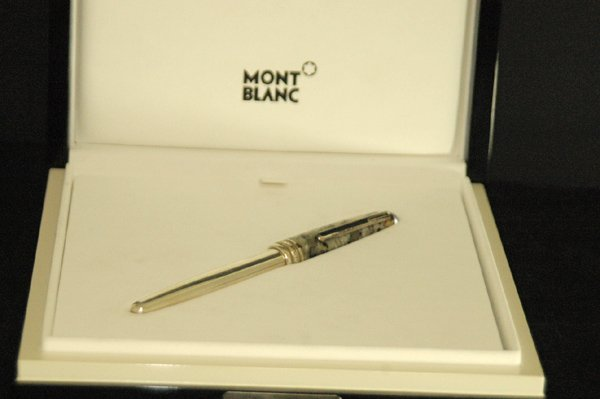 850F: MONTBLANC LMT ED. 100 YEAR ANIVERSARY PEN COMPLET