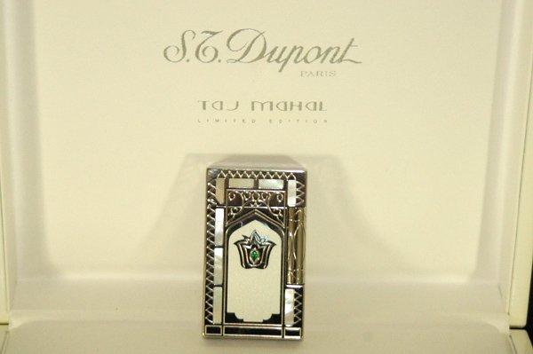850G: S.DUPONT RARE TAJ MAHAL LIMITED ED LIGHTER W/BOX